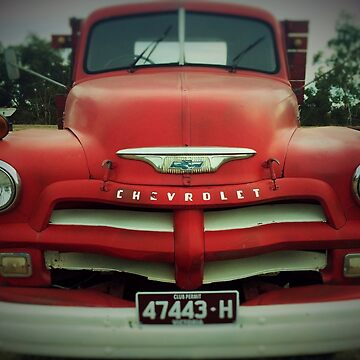 Old Chevy Truck by Andyt