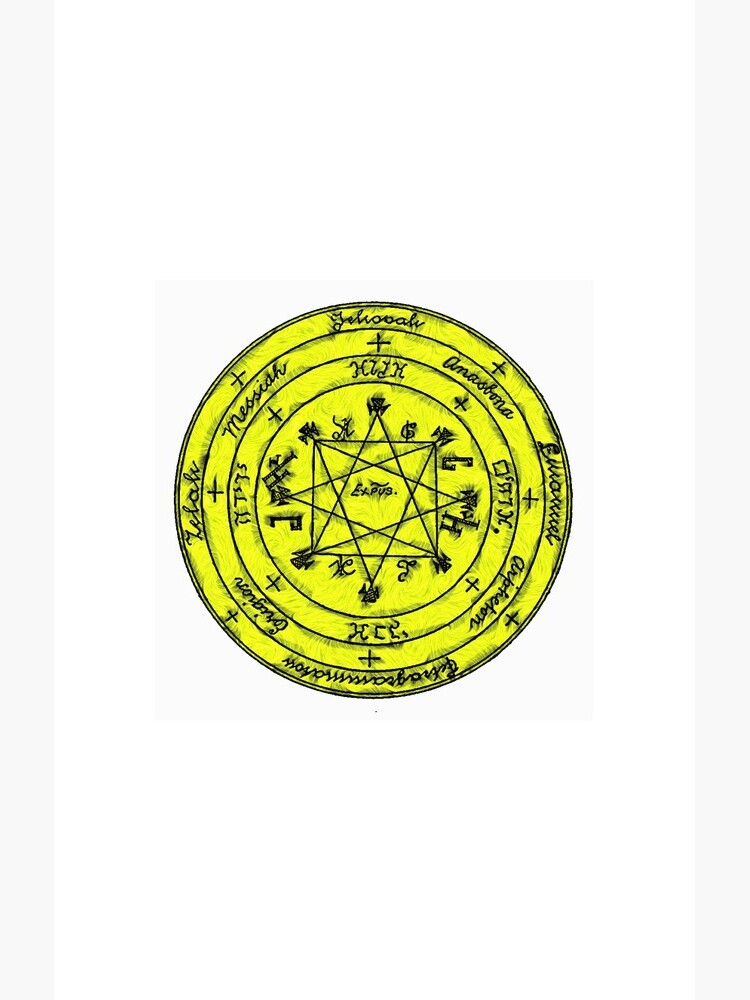 The Pentacle of Rabbi Solomon by Bissekart