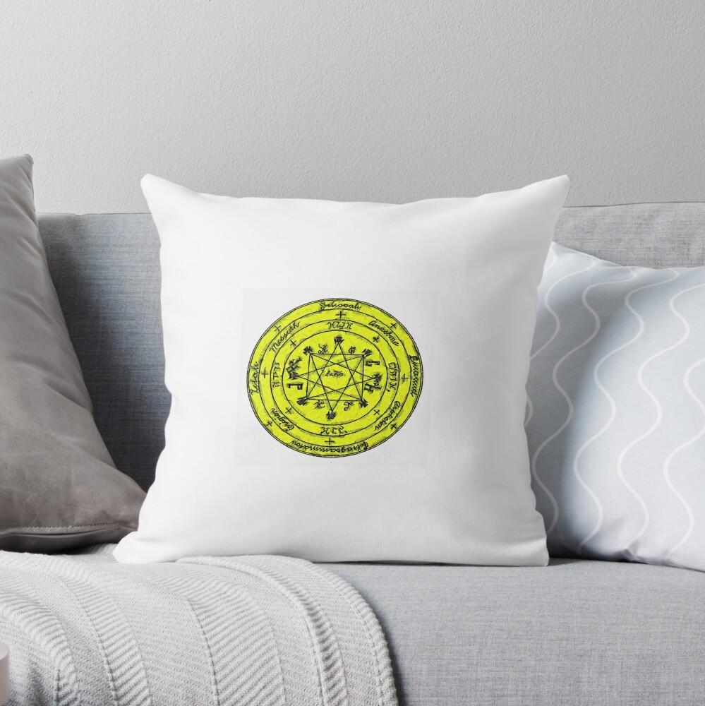 The Pentacle of Rabbi Solomon Throw Pillow