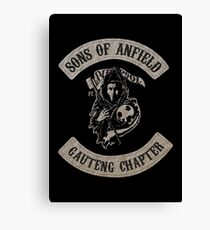 Sons of Anfield - Gauteng Chapter South Africa Canvas Print