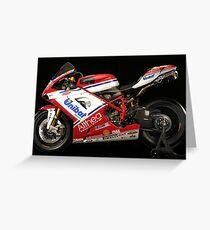 Ducati - World Superbike Champions - Carlos Checa Greeting Card