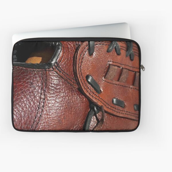 Sports Equipment Baseball Glove, Leatherette, Vintage Style Laptop Sleeve