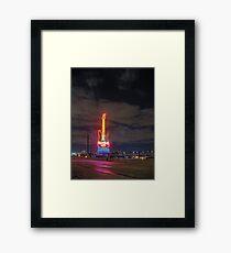 stratosphere Framed Print