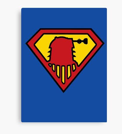 Super-Dalek Canvas Print