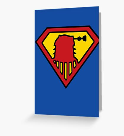 Super-Dalek Greeting Card
