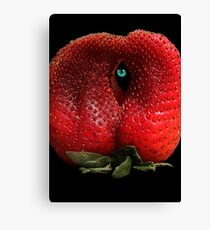 EYE SEE YOU BERRY WELL! Canvas Print
