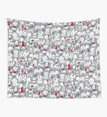 Animal, Art, Clipart, I Love Dogs Wall Tapestry