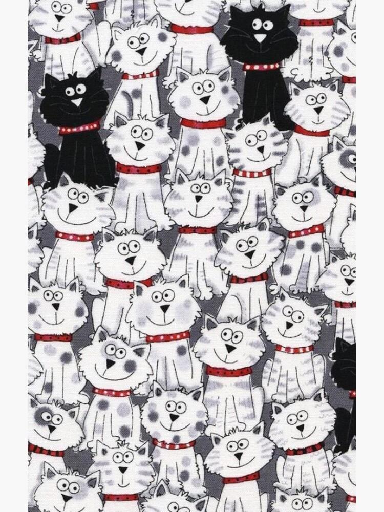 Animal Cartoon Illustrations, Cat Expressions by Yapsalot
