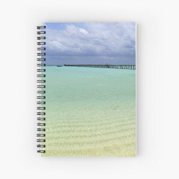 Long Dock at Cherokee Sound (2) Spiral Notebook