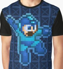 Megaman Jump Shoot Graphic T-Shirt