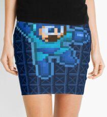Megaman Jump Shoot Mini Skirt