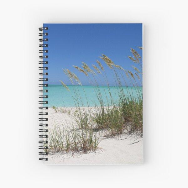 Sea Grass at Treasure Cay  Spiral Notebook
