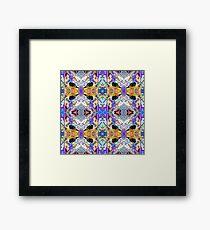 Symmetrical Fantasy Abstract 2 Framed Print