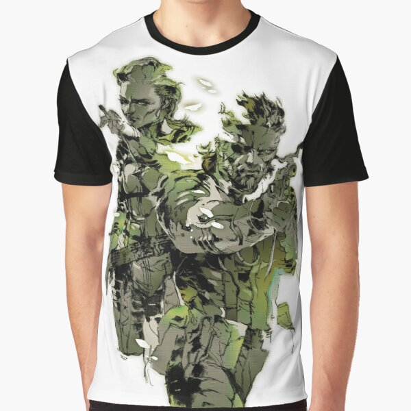 Metal Gear Solid 3 - Snake and The Boss Graphic T-Shirt