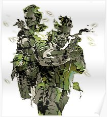 Metal Gear Solid 3 - Snake and The Boss Poster