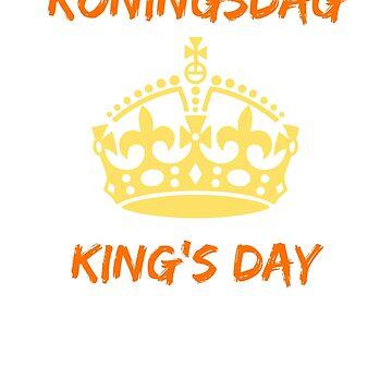 King's Day Koningsdag t shirt by RainyAZ