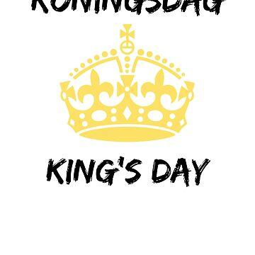 King's Day Koningsdag t shirt Holland by RainyAZ