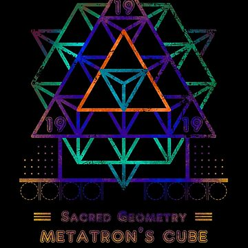 SACRED GEOMETRY METATRON MATRIX by RAFAROMAN