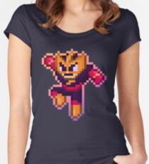 ElecMan Pixels Women's Fitted Scoop T-Shirt