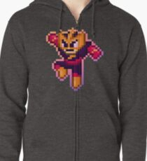 ElecMan Pixels Zipped Hoodie