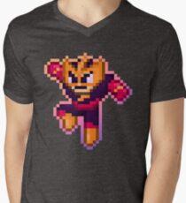 ElecMan Pixels Men's V-Neck T-Shirt