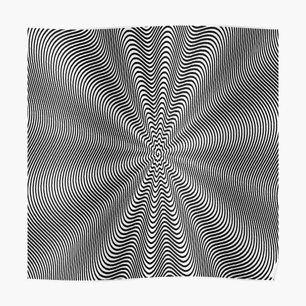 Spiral, helix, scroll, loop, volute, spire, helical, volute Poster
