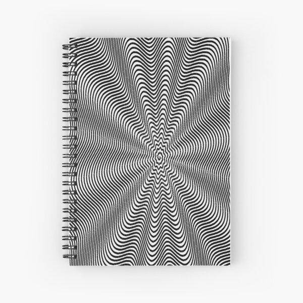 Spiral, helix, scroll, loop, volute, spire, helical, volute Spiral Notebook