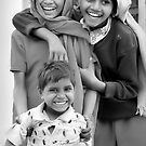 Children in Pushkar, India 2008 by Tash  Menon