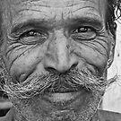 A Man in Pushkar, India 2008 by Tash  Menon