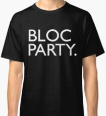 Bloc Party Big Letters Classic T-Shirt