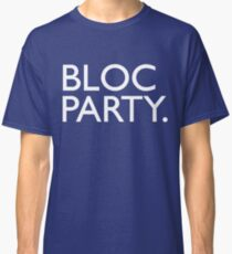 Bloc Party Big Letters Classic T-Shirt