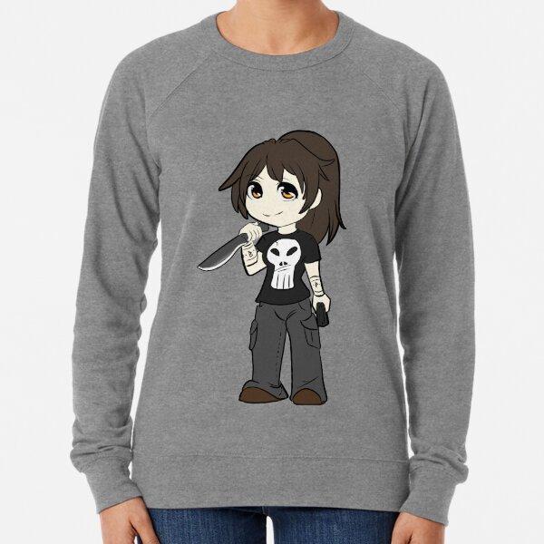Chibi Ghost Lightweight Sweatshirt