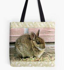 Florida Yard Bunny ~ a Wild Rabbit Tote Bag