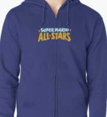 Super Mario All Stars Zipped Hoodie