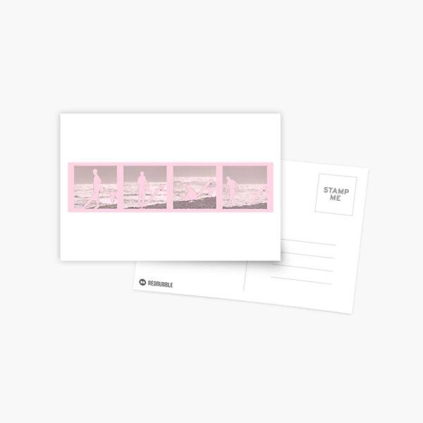 Surf´s window rose Postcard