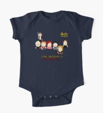 Buffy the Vampire Slayer as South Park One Piece - Short Sleeve