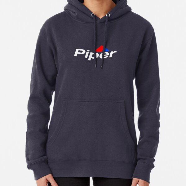 Piper Aircraft Logo - Reverse Pullover Hoodie