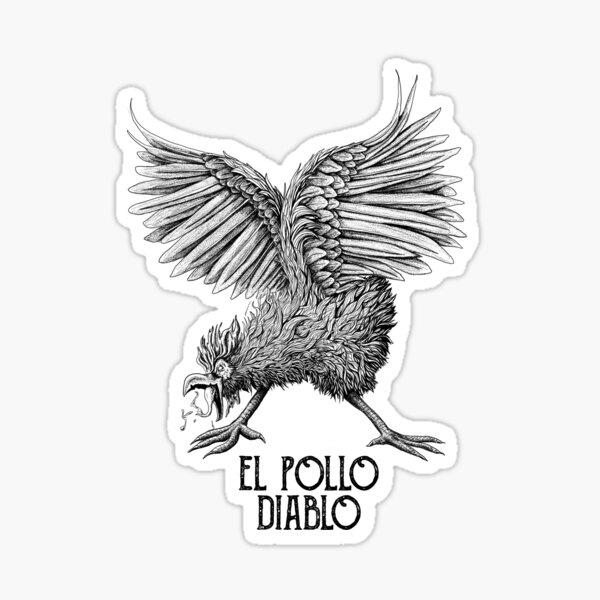 El Pollo Diablo Sticker