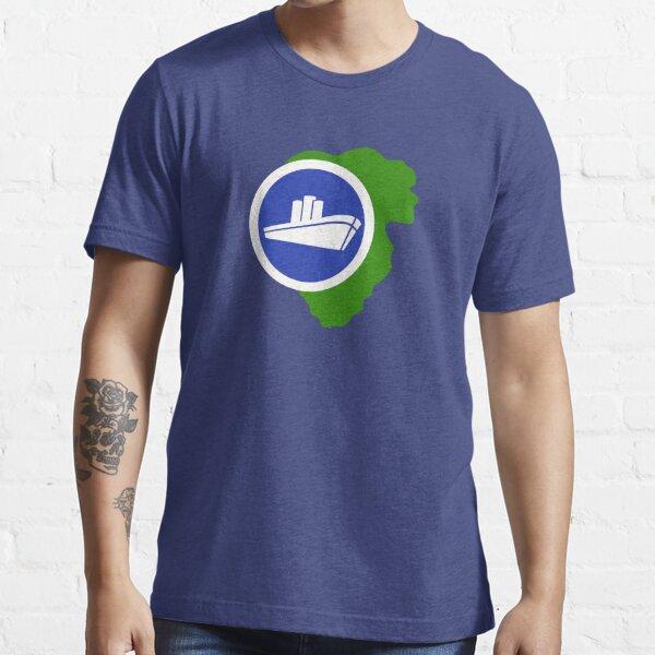 Isla Nublar East Dock Essential T-Shirt