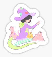 Stitch Witch Sticker
