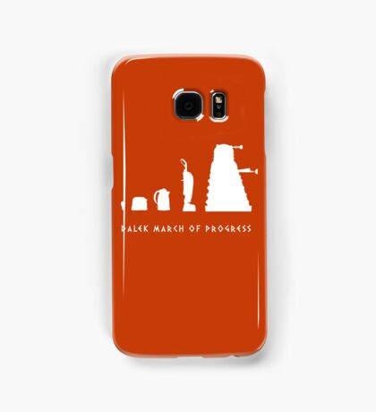 Dalek March of Progress White Samsung Galaxy Case/Skin