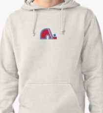 Nordiques Quebec Hockey Team Avalanche Vintage Pullover Hoodie