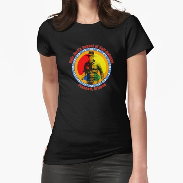 Billy Jack's School of Self Defense Fitted T-Shirt