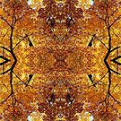 Bright Temple of Autumn Pattern 7731 by Candy Paull