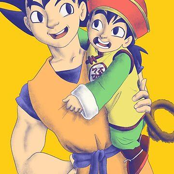 Son Goku & Son by bowlish