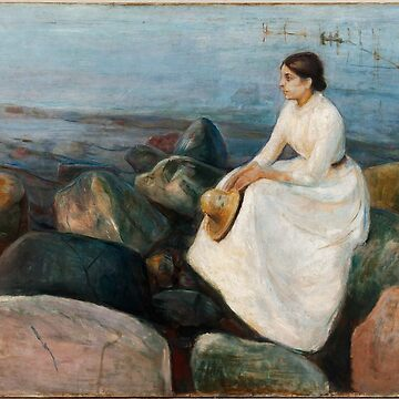 MUNCH / Inger on the beach 1889 by TheGrandTour