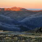 The Niggerheads and Mt Feathertop by Peter Hammer