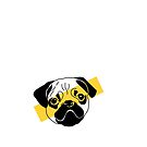 Yellow Pug by Mhaddie