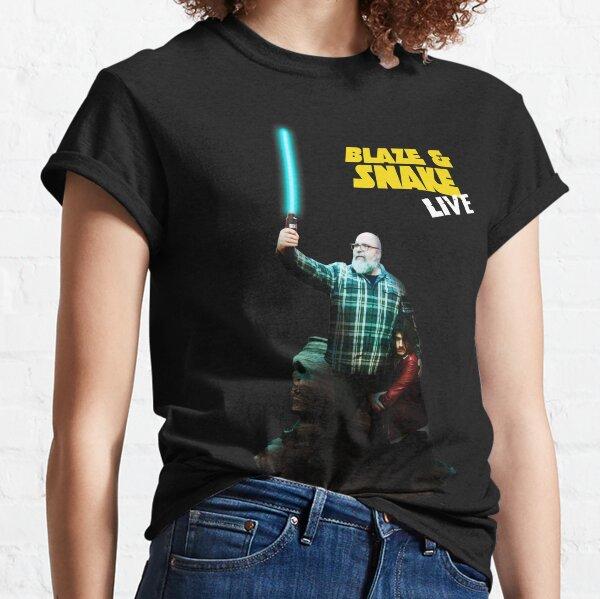 BLAZE AND SNAKE LIVE Classic T-Shirt