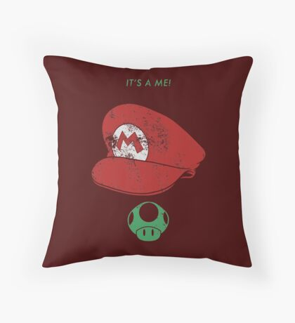 It's a me! Throw Pillow